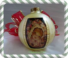 Christmas Ornament 1980 Vintage Christmas by EauPleineVintage