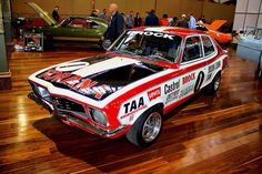 Peter Brock Holden Torana XU1 Australian Muscle Cars, Aussie Muscle Cars, Custom Muscle Cars, Custom Cars, Holden Muscle Cars, Holden Torana, Holden Australia, The Great Race, Chevy Chevelle Ss