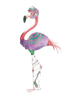 Enlarge Flamingo