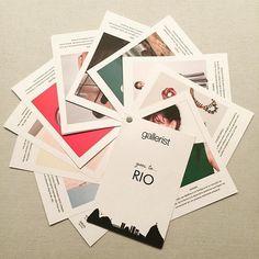 Editorial - Gallerist Goes to... Rio: hoje, a partir das 15h, nossa loja no Piso 1 do…