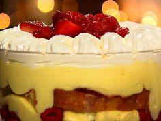 Pumpkin Cream Pie with Gingersnap Crust and Rum Cheesecake Topping Recipe : Duff Goldman : Food Network