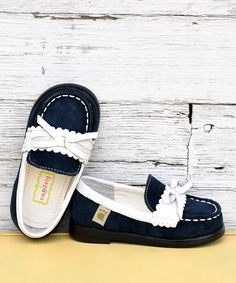 blue loafer from foxpaws on #zulily