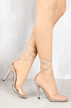 Lola Shoetique - Clearly Stunning - Nude, $35.99 (http://www.lolashoetique.com/clearly-stunning-nude/)
