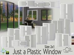 The Sims Resource: Just a Plastic Window • Sims 4 Downloads