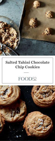 Danielle Oron's Salted Tahini Chocolate Chip Cookies