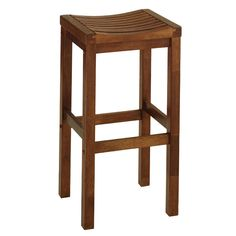 "Solid Wood 24"" Bar Stool 