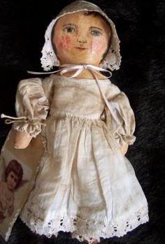 Eldee, primitive doll