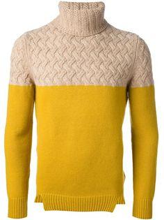 CARVEN - basket knit sweater 6  449usd