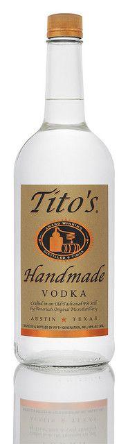 Tito liter by Tito's Vodka, via Flickr