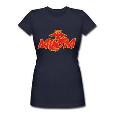 USMC Mom 1 T-Shirt | Spreadshirt | ID: 11242660