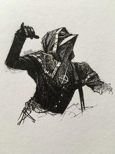 Omega Ghost Metal Band, Doom Metal Bands, Heavy Metal Bands, Love Drawings, Pencil Drawings, Ghost Bc, Portrait Sketches, Drawing Practice, Skull Art