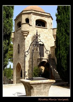 OUR LADY OF FILERIMOS - Rhodes, Greece Copyright: maria varipati Beautiful Places In The World, Beautiful Space, Greek Islands, Greece Travel, Our Lady, Rhode Island, Athens, Wonders Of The World, Places To Visit