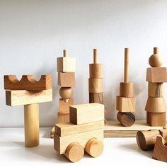Natural blocks | @woodenstory