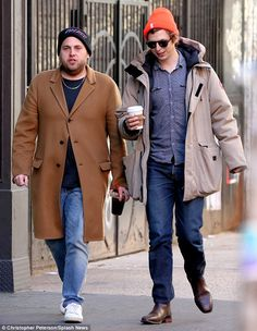 Jonah Hill and Michael Cera enjoy January stroll in New York City - New Yea. - Jonah Hill and Michael Cera enjoy January stroll in New York City – New Year's stroll: On - Joke Of The Day, Memes Of The Day, Funny Memes, Hilarious, Jokes, Funny Quotes, Micheal Cera, Michael Cera Meme, Michael Angarano
