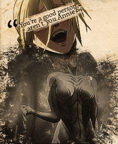 Annie Leonhardt Attack on titan shingeki no kyojin