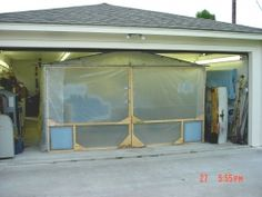 15 Best Homemade Spray Booth Images Diy Paint Booth