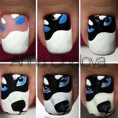 #Repost @bagheeranails with @repostapp ・・・ #nailart #dognailart #dognails #husky #huskynailart #huskynails #tutorialnailart #tutorialnails #unhastutorial #tutorialdeunhas #nails #unhas #uñas #freehand #unhasdesenhadas #naoeadesivo
