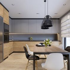 Kitchen Room Design, Kitchen Corner, Modern Kitchen Design, Living Room Kitchen, Interior Design Kitchen, New Kitchen, Kitchen Furniture, Furniture Design, House Design