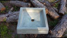 Concrete Square Sink / Concrete Sink / Bathroom Sink