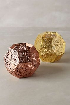 Anthropologie - Tom Dixon Bubble-Etched Candleholder