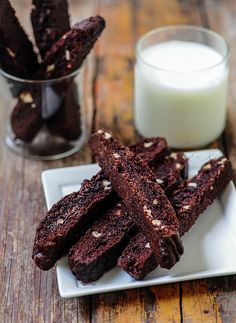 Double Chocolate Biscotti - Edible Gifts for Christmas