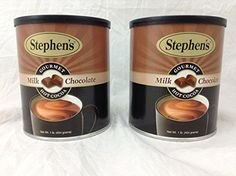 Stephens Gourmet Hot Cocoa Milk Chocolate 16ounce Canister Pack of 2 * You can find more details by visiting the image link.