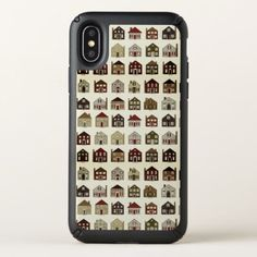 Realtor houses speck iPhone x case - real estate gifts business cyo diy customize