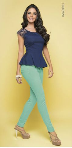 ¡20 #atuendos con #blusa peplum que te encantarán! | #Moda Mckela | Mckela