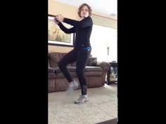 Weighted Jog--This cardio exercise really gets your heart rate up! I show you variations for all levels of fitness. Optional: light weight