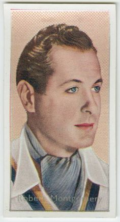 One of hundreds of thousands of free digital items from The New York Public Library. Robert Montgomery, Elizabeth Montgomery, Old Hollywood Actors, Hollywood Stars, Metro Goldwyn Mayer, Collector Cards, New York Public Library, Classic Films, Vintage Postcards