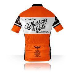 Chasseur de Cols Alpine Cycle Jersey (back)