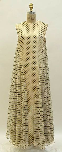 Evening Dress, Madame Grès, early 1960's, French, silk.