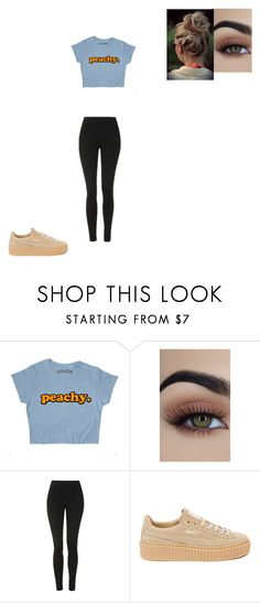 """""""Untitled #732"""" by melissaperez427 on Polyvore featuring Topshop and Puma"""