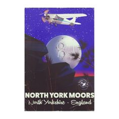 North York Moors England travel poster Acrylic Wall Art - light gifts template style unique special diy