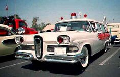 Car / Auto - Ford Edsel Ambulance (The Year- 1958), Classic Automobile