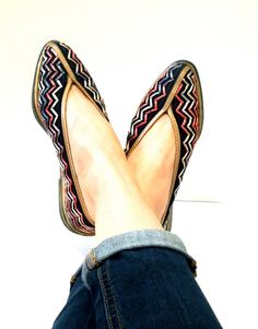 Vintage hand woven shoes by fromroses on Etsy, $30.00