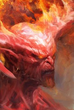 Demon by Manzanedo.deviantart.com on @DeviantArt