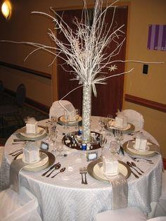 Winter Wonderland Table Decorating Ideas | Winter Wonderland Table Decor