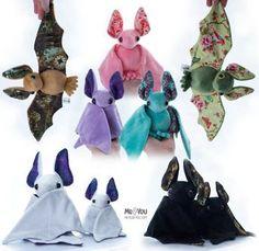 Bats! by meplushyou.deviantart.com on @DeviantArt