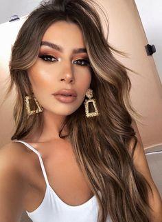 Makeup / Makeup / Makeup / Makeup Perfekt / Makeup Looks Beauty Make-up, Beauty Hacks, Hair Beauty, Beauty Ideas, Office Makeup, Queen Hair, Brunette Hair, Balayage Hair, Weave Hairstyles