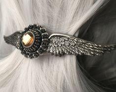 Steampunk Jewelry Steampunk Wing Wedding Hair Accessories