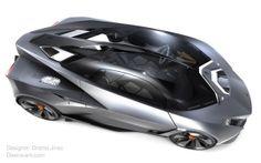 Lamborghini Perdigon Concept by Ondrej Jirec on Rungmasti.com by Rungmasti