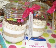M's cookie jars