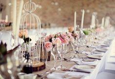Decoración de mesas de boda vintage: Fotos de los mejores diseños