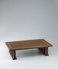 Low table of jindai zelkova wood.