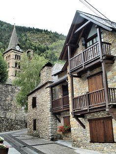Arties, the Pyrenees - Lleida, Catalonia Basque Country, Spain And Portugal, Spain Travel, Wanderlust Travel, Traveling By Yourself, Places To Go, Spanish, Beautiful Places, Barcelona