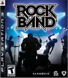 Amazon.com: Rock Band Game Only PS3: Playstation 3: Artist Not Provided: Video Games