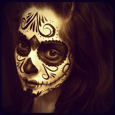 Sugar Skull by Crystal's Creative Faces  - Chicago Face Painting