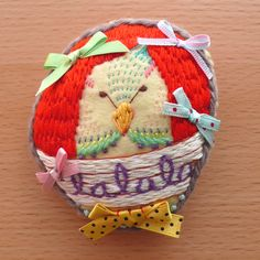 ひみつのはなし All her work is so clever. This makes embroidery and needlework new and fun!