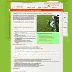 Website 'http://landscapeontario.com/how-to-maintain-a-healthy-lawn' snapped on Snapito!
